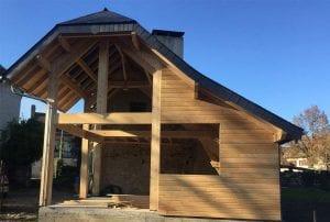 construstion ossature bois-charpentes bois- couverture-yoan naturel-hautes pyrenees-65-tarbes