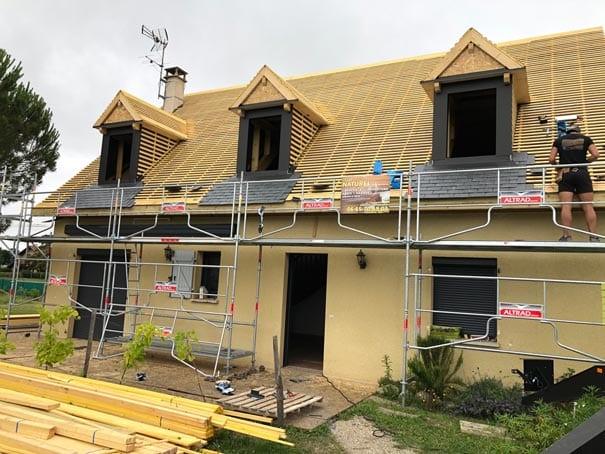 Rénovation-charpente-traditionnelle-et-couverture-ardoise