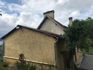rehausse-toiture avt travaux-ossature-bois-sur-mesures-charpente-traditionnelle-bardage-pignon-cédral-sarl-yoan-naturel-hautes-pyrenees-tarbes-saint-martin-65-4
