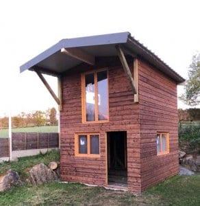 chalet de jardin-yoan naturel-aménagement extérieurs-construction ossature bois- charpente-ouverture-hautes pyrenees-tarbes