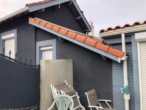 rehausse-toiture-ossature-bois-sur-mesure-charpente-traditionnelle-couverture-bardage-facade-cédral-yoan naturel construction bois-tarbes-st martin-hautes pyrenees