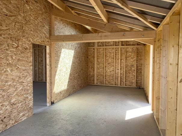 sarl yoan naturel-Hangar-ossature-bois,-charpente-traditionnelle,-couverture-tuiles-et-bardage-Cédral-à-Dours-(3)